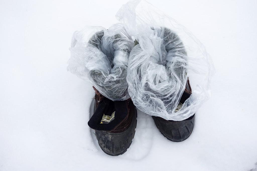 Füsse vor Kälte schützen